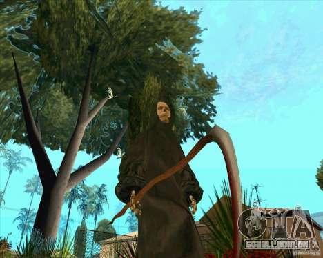 Morte para GTA San Andreas quinto tela