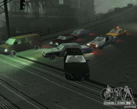Winter Handling para GTA 4 por diante tela