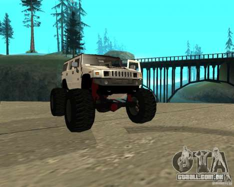 Hummer H2 MONSTER para GTA San Andreas