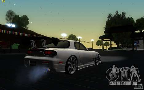 Mazda Rx7 C-West para GTA San Andreas vista direita
