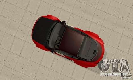 Mitsubishi Eclipse - Tuning para GTA San Andreas vista direita