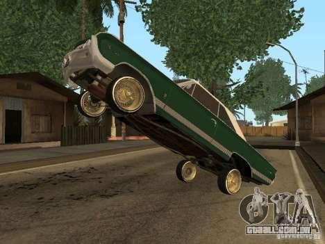 Mercury Park Lane Lowrider para GTA San Andreas vista direita