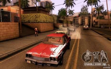Dodge Monaco para GTA San Andreas traseira esquerda vista