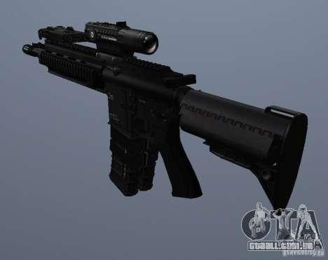 Carabina HK416 para GTA San Andreas quinto tela