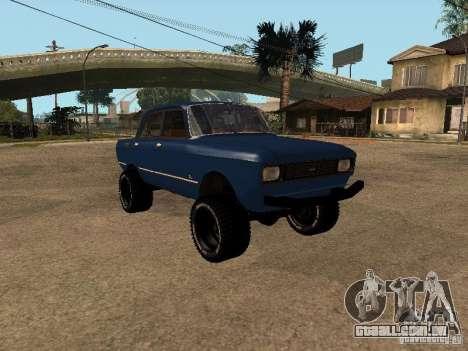 Moskvich 412-4 x 4 para GTA San Andreas