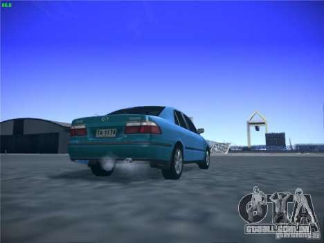 Mazda 626 GF 1999 para GTA San Andreas vista interior