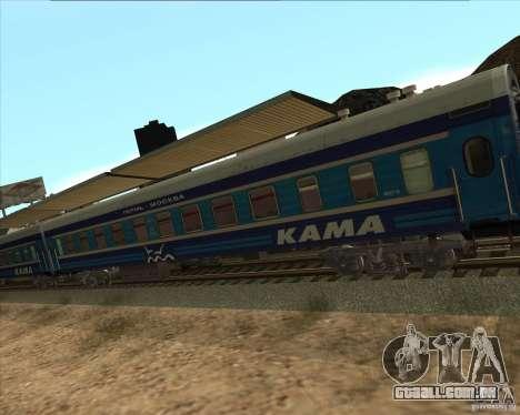 Carro KAMA para GTA San Andreas vista direita