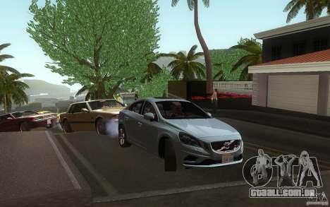 Volvo S60 2011 para GTA San Andreas vista direita