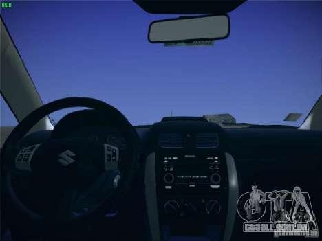 Suzuki SX4 2012 para GTA San Andreas vista direita