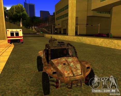 Desert Bandit para GTA San Andreas vista direita