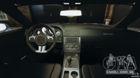 Dodge Challenger SRT8 392 2012 para GTA 4 vista de volta