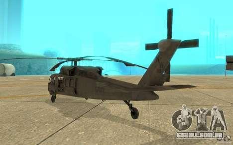 UH-80 para GTA San Andreas vista direita