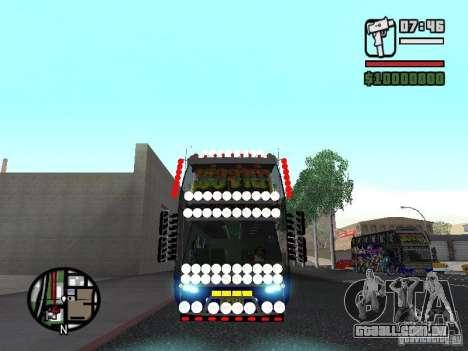 Neoplan para GTA San Andreas esquerda vista