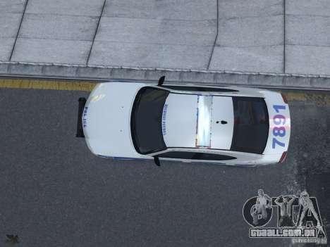Dodge Charger NYPD para GTA 4 vista interior