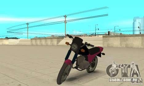 Coruja ZID 175 para GTA San Andreas