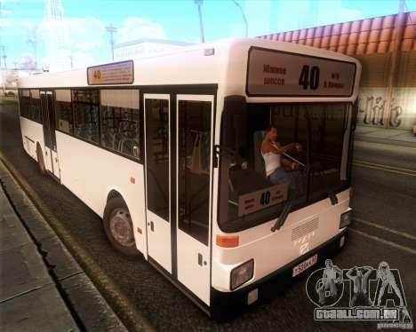 MAN SL202 para GTA San Andreas traseira esquerda vista