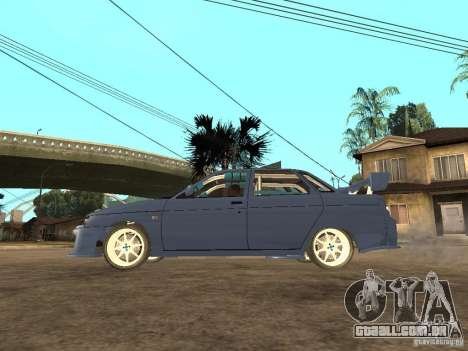 LADA 21103 rua edição para GTA San Andreas esquerda vista