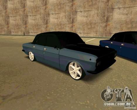 GAZ 24 para GTA San Andreas vista direita
