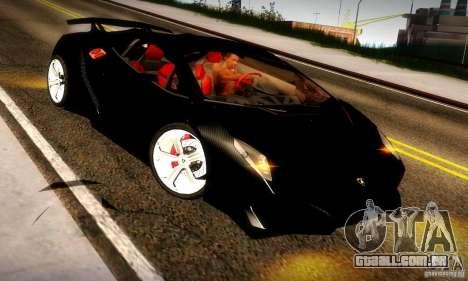 Lamborghini Sesto Elemento para GTA San Andreas vista direita