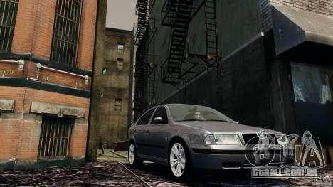 Skoda Octavia v.1.0 para GTA 4 esquerda vista