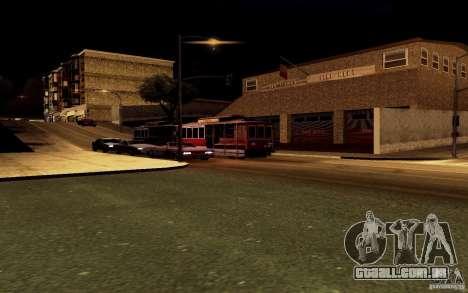 Um novo algoritmo para tráfego automóvel para GTA San Andreas oitavo tela