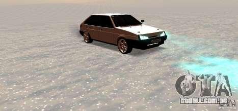 Lado do centro de VAZ-2109i para GTA San Andreas vista direita