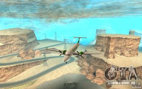 Beechcraft B1900D para GTA San Andreas