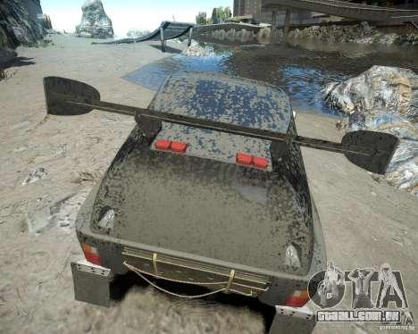 Mitsubishi Pajero Proto Dakar EK86 para GTA 4 vista inferior