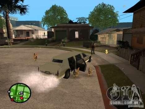 Galinhas no GTA San Andreas para GTA San Andreas terceira tela