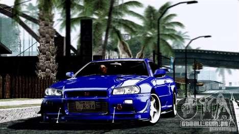 ENB By Wondo para GTA San Andreas quinto tela