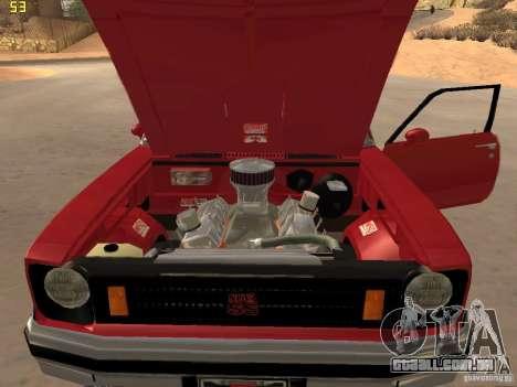 Chevrolet Nova Chucky para GTA San Andreas vista traseira