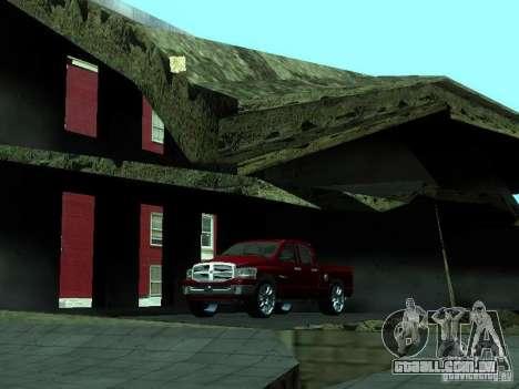 Dodge Ram 1500 v2 para GTA San Andreas vista interior