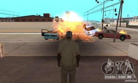 Hot adrenaline effects v1.0 para GTA San Andreas segunda tela
