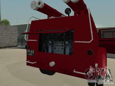 GAZ 51 20 ADC para GTA San Andreas vista superior