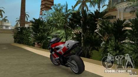 Yamaha YZR 500 V1.2 para GTA Vice City vista traseira esquerda