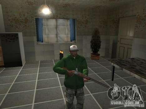 Pak domésticos armas V2 para GTA San Andreas nono tela