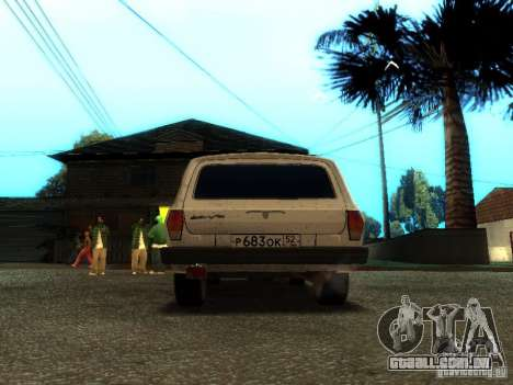 GAZ VOLGA 310221 TUNING versão para GTA San Andreas vista direita