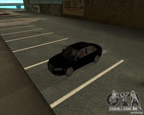 AUDI S4 Sport para GTA San Andreas vista interior