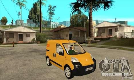 Citroen Nemo 2010 para GTA San Andreas vista traseira