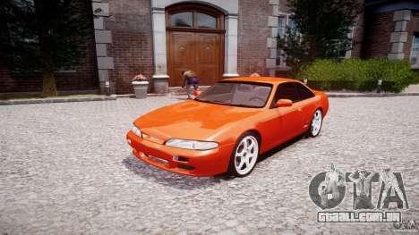 Nissan Silvia Ks 14 1994 v1.0 para GTA 4 vista de volta