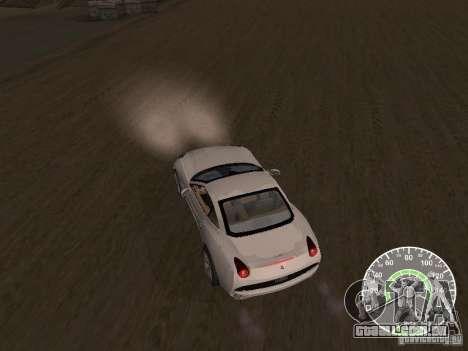 Ferrari California v1 para GTA San Andreas vista direita