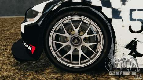 BMW Z4 M Coupe Motorsport para GTA 4 vista interior