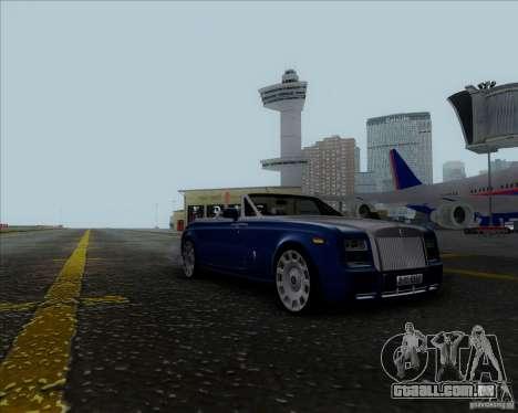 Rolls Royce Phantom Series II Drophead Coupe 12 para GTA San Andreas traseira esquerda vista