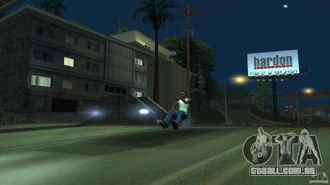 Invisível Blista Compact para GTA San Andreas