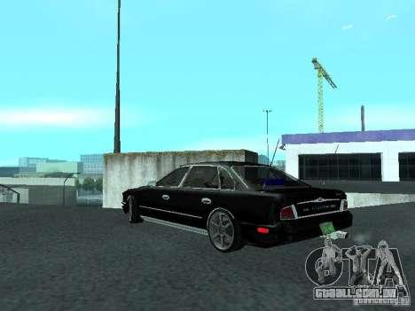 Nissan President JS para GTA San Andreas traseira esquerda vista