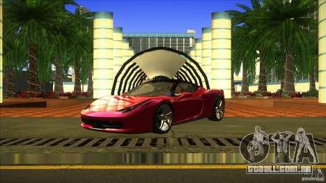 ENBSeries para GTA San Andreas segunda tela