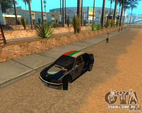 BMW 318i E46 2003 para GTA San Andreas vista traseira