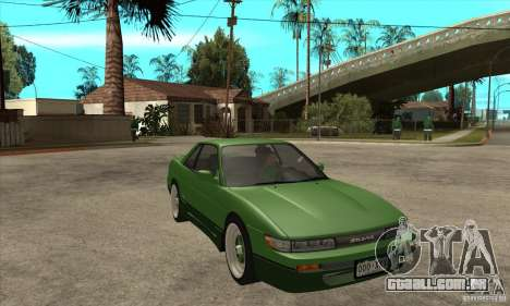 Nissan Silvia S13 1992 Club Ks para GTA San Andreas vista traseira