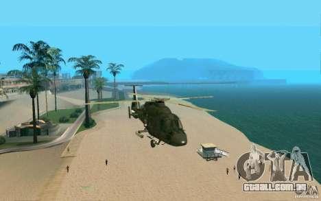 Ka-60 Kasatka para GTA San Andreas vista traseira