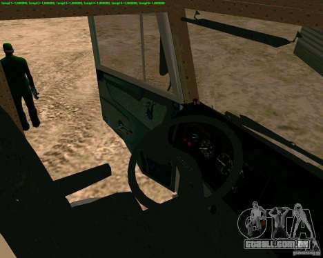 KAMAZ 65117 para GTA San Andreas vista direita